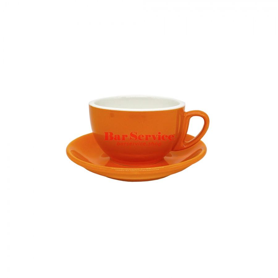 Чайная пара 270 мл; оранжевый цвет; Barista P.L. в Волгограде